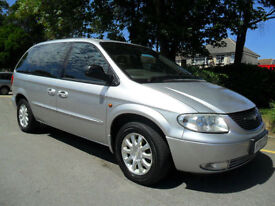 CHRYSLER VOYAGER 2.5 CRD LX 2003 COMPLETE WITH M.O.T HPI CLEAR INC WARRANTY