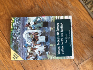 "Selling ""Where there is no doctor- a village healthcare handbook"
