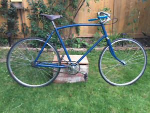 Vintage Eaton Glider Fixie conversion bicycle