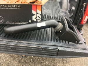 K&N cold air intake BlackHawk Edition. Ford F-150 5.0L