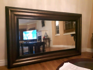 Prestige large antique wall mirror for sale