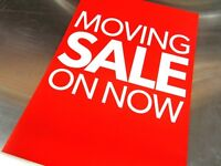 MOVING SALE 20% OFF everything - Final Sale