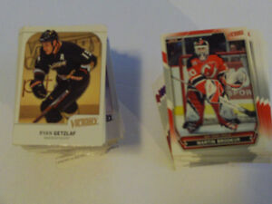 2 SERIES DE CARTES DE HOCKEY UPPER DECK VICTORY 2007-10