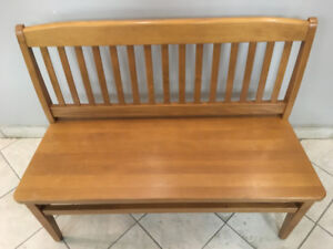 Canadian Made Benches -  EXCELLENT SHAPE, MOVING, MUST SELL!