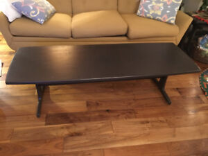 Teak Coffee table, Sofa table and  2 side tables