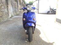 2000 Aprilia Habana 50cc learner legal 50 cc 2 stroke scooter. 11 month MOT.
