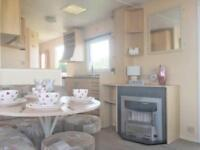 Sleeps 8 static caravan 3 parks live shows beach access indoor heated pool