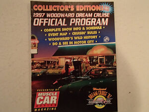 COLLECTOR'S EDITION 1997 WOODWARD DREAM CRUISE OFFICIAL PROGRAM