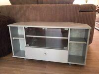 Grey Corner TV Unit