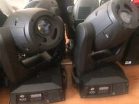 ADJ VIZI SPOT 5R moving heads