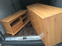 SIDEBOARD AND MATCHING TV STAND ** FREE DELIVERY TONIGHT **