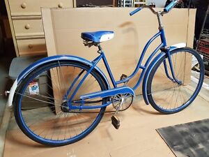 Rare Antique Canadian Made 50's Waterloo Sunshine Bike