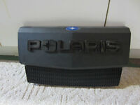 Polaris Sportsman front grill plate.