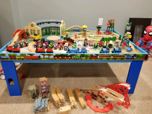 Thomas the train complete set with table