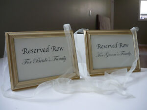 Country / Rustic Wedding Decor Items