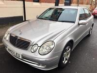 MERCEDES E220 CDI AVANTGARDE AUTO [ PRICE REDUCED!!! ] LEATHER..HISTORY