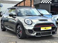 2015 MINI Hatch 2.0 John Cooper Works (Chili, Media XL) (s/s) 3dr Petrol grey Au