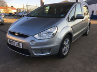 2007 Ford S-MAX 1.8TDCi diesel Zetec 120,000 miles full history 7 seater.
