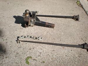 Hitch and Sway Bars
