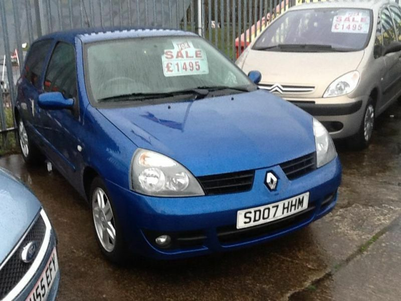 renault clio 1 2 a c campus sport i music in swansea gumtree. Black Bedroom Furniture Sets. Home Design Ideas