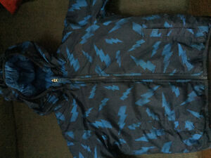 Boys northface winter jacket