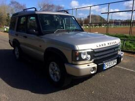 2003 Land Rover Discovery TD5 7 SEATER.. COMPLETE WITH M.O.T INC WARRANTY