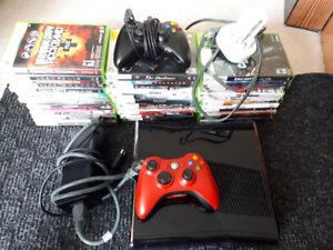 xbox 360 Elite and games