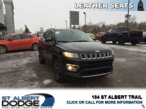 2017 Jeep Compass Limited  HEATED LEATHER | BACK CAM | HEATED WH