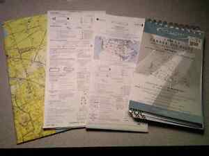 Old Pilot Maps and Airport Guide