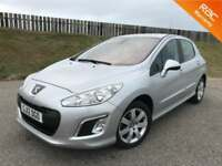 2012 PEUGEOT 308 ACTIVE 1.6HDI 90PS - 73K MILES - F.S.H - 12 MONTHS WARRANTY