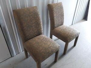 2 Chaises décoratives