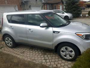 2014 Kia Soul with less than 15,000kms