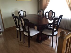 Fancy dining room and living room set