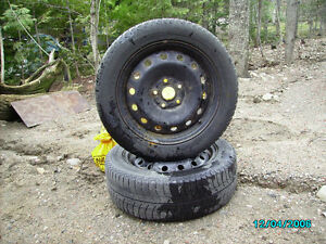 Michelin Snow Tires on Rims for sale