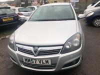 Vauxhall Astra 1.9CDTi 8v ( 120ps ) SXi 5 DOOR - 2008 57-REG - 11 MONTHS MOT
