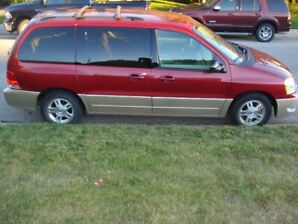 Loaded Ford Freestar minivan in good condition