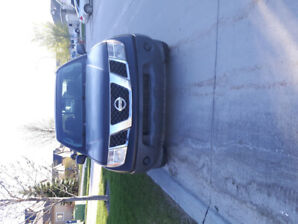 2005 Nissan Frontier 4 cylinder Manual