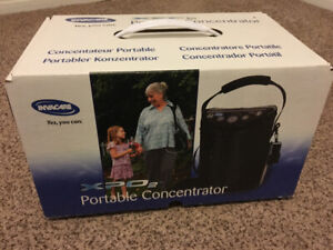 New InvaCare portable oxygen concentrator for sale.