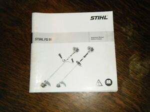 Stihl FS 80, 85,  FS 90 Trimmer Instruction Manuals