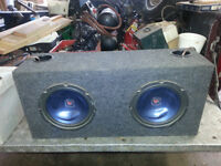 Boombox with Kenwood Speakers