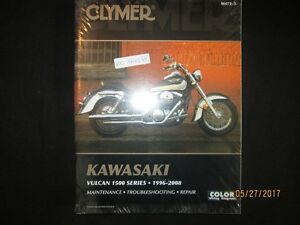 KAWASAKI VULCAN 1500 Series Shop Service Repair Manual 1996-2008