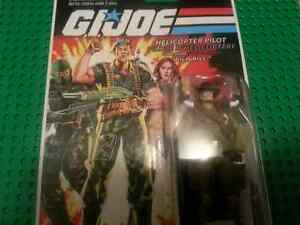 gi joe j.I. joe wild bill helicopter pilot on sealed card