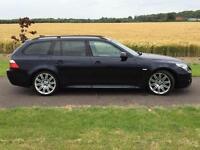 2008 BMW 530d M-SPORT TOURING**LCI MODEL **AUTO**FULL BLACK LEATHER**SAT NAV**