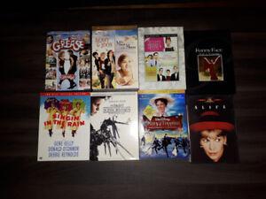 Collection DVD films rétros