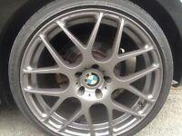 "19"" BMW Z4 ALLOYS RARE VGC WILL FIT 320 330 M3 M5 335 530 118 116 M4"