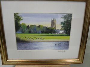 watercolour Print by H.Downing Hunter