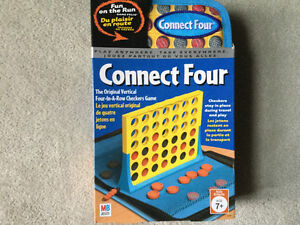 BRAND NEW TRAVEL CONNECT FOUR FUN ON THE RUN