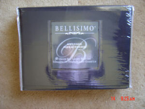 Brand New~BELLISIMO Soft Touch~Queen Size Luxury Sheet Set~Black