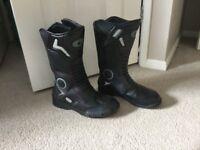Size 7 motorbike boots