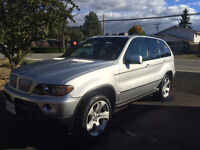 2004 BMW X5 LOW KM! REDUCED!